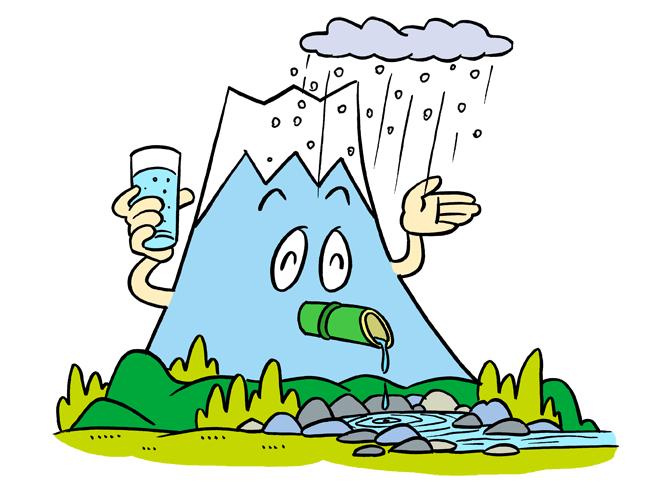 【其の四】天然の浄化装置をヒントに!湧き水を思わせる生きた水に!
