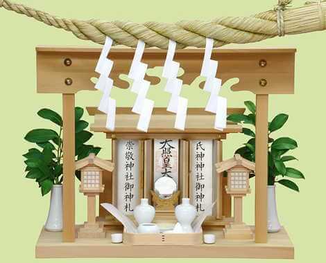 神棚に飾る榊の本数~一本ずつ?それとも束がいい?